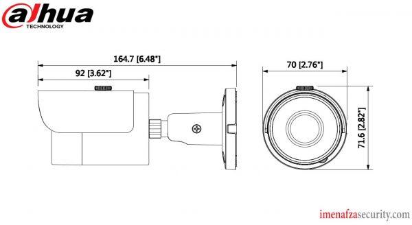 دوربین Dahua مدل DH-HAC-HFW1100SP