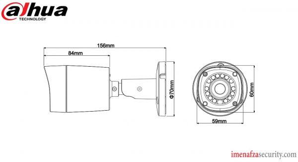 دوربین Dahua مدل DH-HAC-HFW1200RMP-0360B
