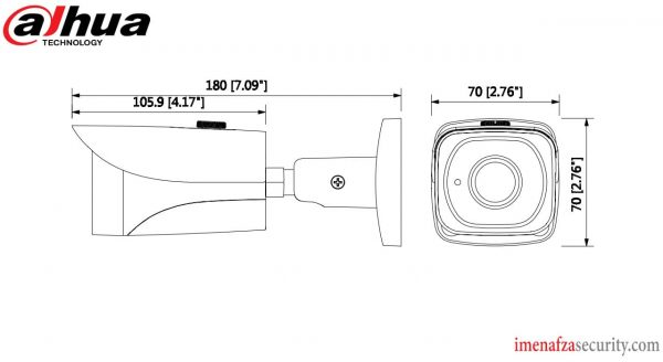 دوربین Dahua مدل DH-HAC-HFW2231EP