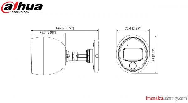 دوربین Dahua مدل DH-HAC-ME1200BP-PIR