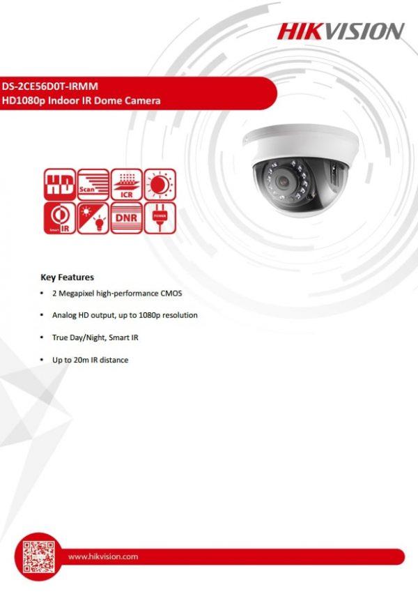 دوربین HIKVISION مدل DS-2CE56D0T-IRMM