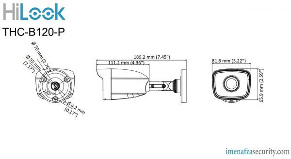 دوربین HiLook مدل THC-B120-P