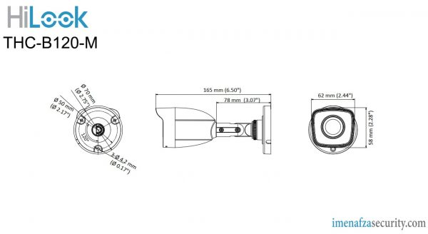 دوربین HiLook مدل THC-B120-M