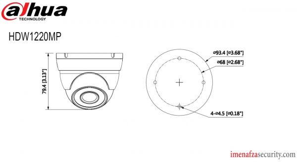 دوربین Dahua مدل DH-HAC-HDW1220MP