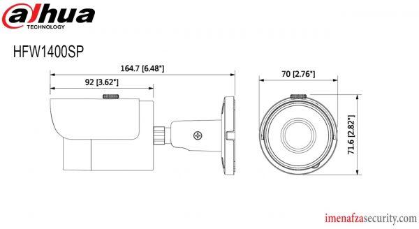 دوربین Dahua مدل DH-HAC-HFW1400SP
