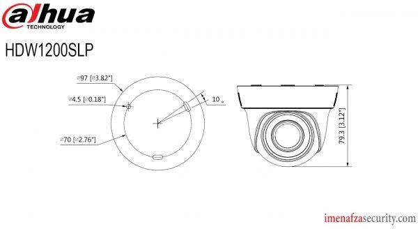 دوربین Dahua مدل DH-HAC-HDW1200SLP