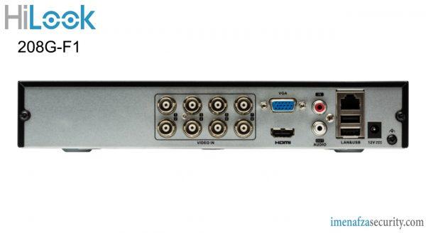 دستگاه ضبط 8 کانال HiLook مدل DVR-208G-F1