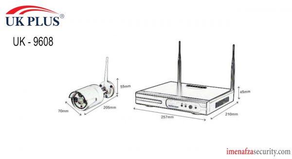 پک وایرلس UK PLUS مدل UK-9608 FHD