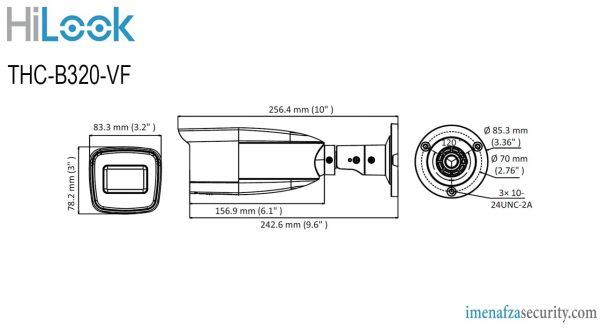 دوربین HiLook مدل THC-B320-VF