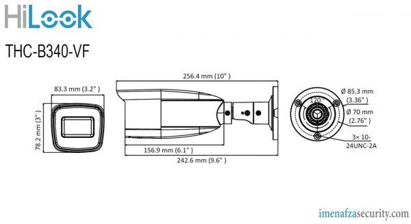 دوربین HiLook مدل THC-B340-VF