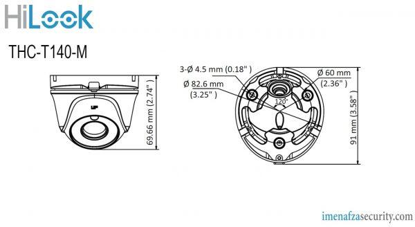 دوربین HiLook مدل THC-T140-M