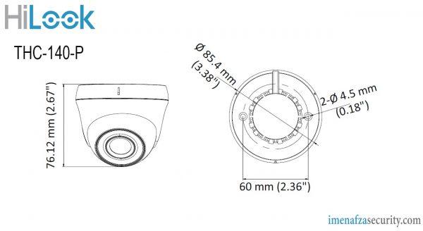 دوربین HiLook مدل THC-T140-P