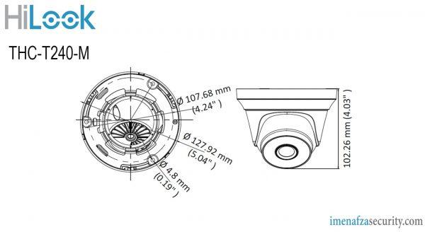 دوربین HiLook مدل THC-T240-M