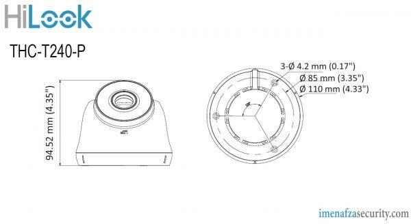 دوربین HiLook مدل THC-T240-P