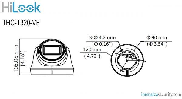 دوربین HiLook مدل THC-T320-VF