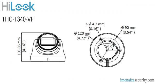 دوربین HiLook مدل THC-T340-VF